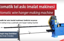 Otomatik tel askı imalat makinesi –