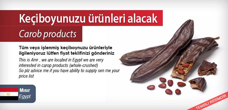 Carob-products