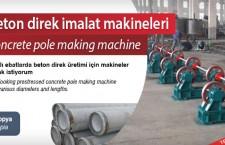 Beton direk imalat makineleri