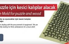 Puzzle için kesici kalıplar alacak