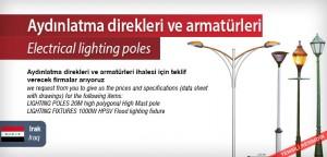 Electrical-lighting-poles