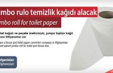 Jumbo rulo temizlik kağıdı alacak