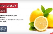 Limon alacak