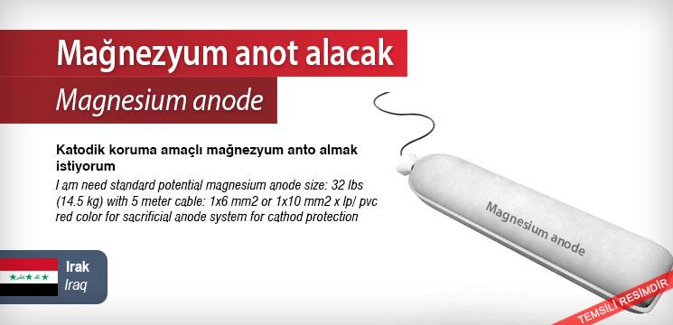 Magnesium-anode
