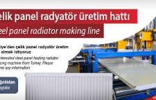 Çelik panel radyatör üretim hattı