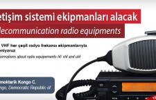 İletişim sistemi ekipmanları alacak