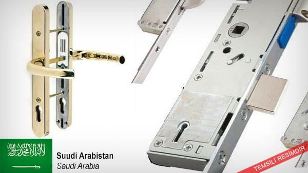 Door-handles-locks-frame