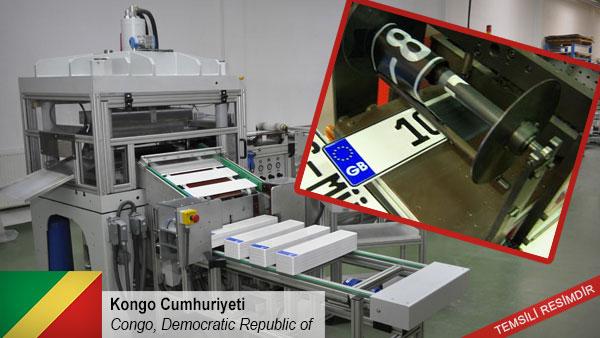 Machine-to-manufacture-license-plates