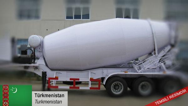 Cement-trailer