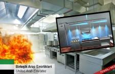 Mutfaklar için yangın söndürme sistemleriyle ilgileniyor
