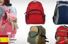 Okul çantaları ithal etmek istiyor