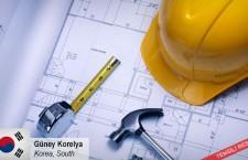 Bir yapı projesi için inşaat sahası takımları, ekipmanları, kimyasalları almak istiyor