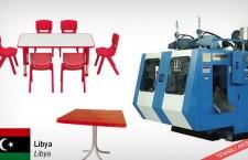 Plastik masa ve sandalye imalat makineleriyle ilgileniyor
