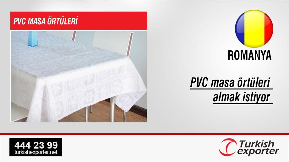 PVC-tablecloth