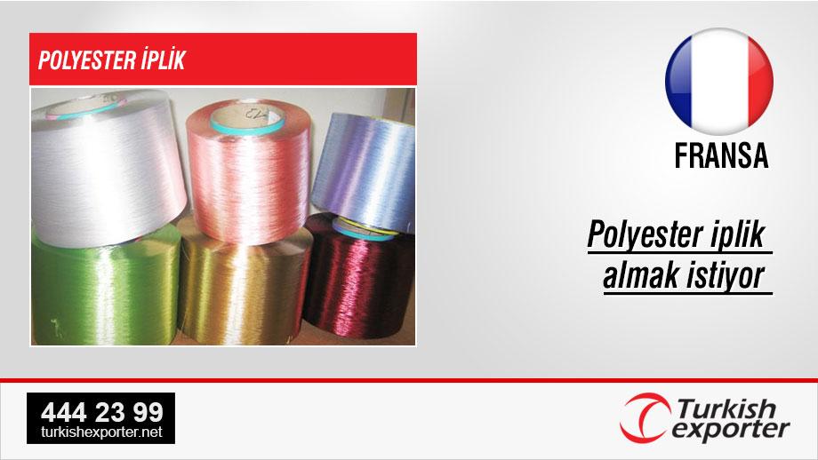 Polyester-fibers