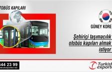 Şehiriçi taşımacılık otobüs kapıları almak istiyor