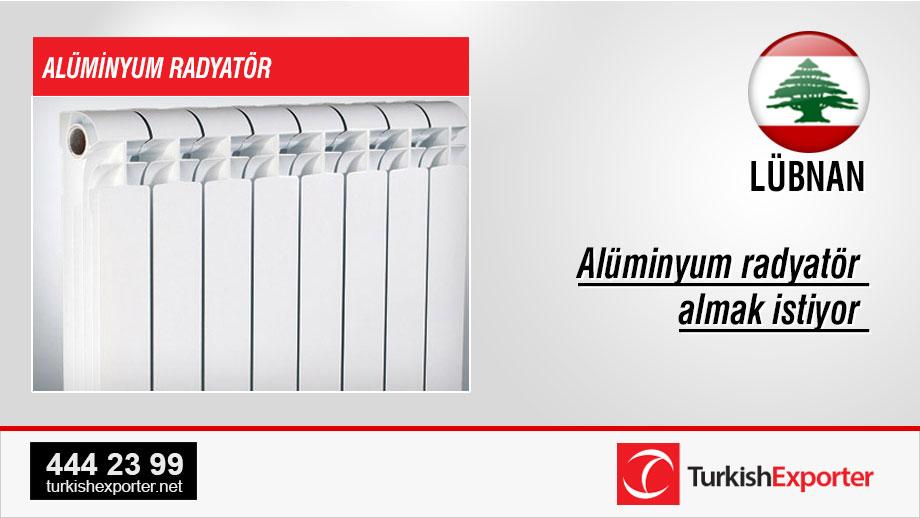Aluminium-radiator