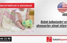 Bebek battaniyeleri ve aksesuarları almak istiyor