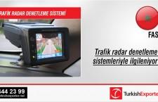 Trafik radar denetleme sistemleriyle ilgileniyor