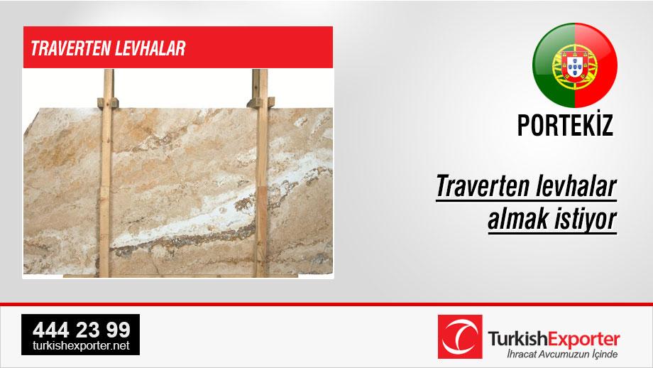 Travertine-slabs