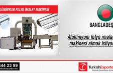 Alüminyum folyo imalat makinesi almak istiyor