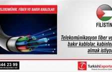 Telekomünikasyon fiber ve bakır kablolar, kabinler almak istiyor