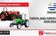 Traktörler, bahçe traktörleri almak istiyor