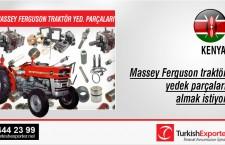 Massey Ferguson traktör yedek parçaları almak istiyor