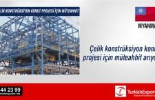 Çelik konstrüksiyon konut projesi için müteahhit arıyor