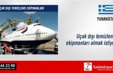 Uçakların dışını temizleme ekipmanları almak istiyor