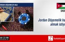 Jordan Döşemelik halı almak istiyor