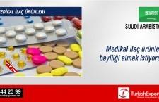 Medikal ilaç ürünleri