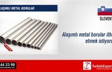 Alaşımlı metal borular