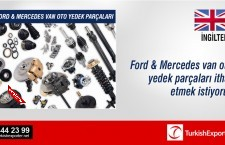 Ford & Mercedes van oto yedek parçaları