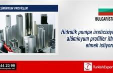 Alüminyum profiller