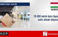 Seramik fayans 10.000 m2