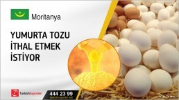 Yumurta tozu ithal etmek istiyor