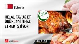Helal tavuk et ürünleri ithal etmek istiyor