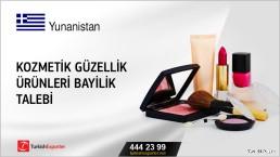 Kozmetik güzellik ürünleri bayilik talebi