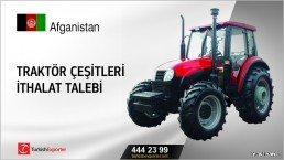 Traktör çeşitleri ithalat talebi