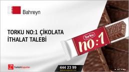 Torku No:1 çikolata ithalat talebi