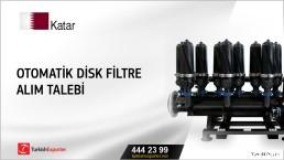 Katar, Otomatik disk filtre alım talebi