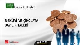 Suudi Arabistan, Bisküvi ve çikolata bayilik talebi