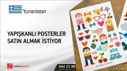 Yunanistan, Yapışkanlı posterler satın almak istiyor