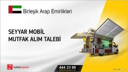 Birleşik Arap Emirlikleri, Seyyar mobil mutfak alım talebi