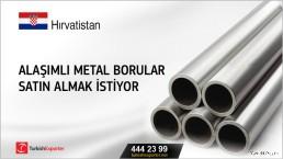 Hırvatistan, Alaşımlı metal borular satın almak istiyor