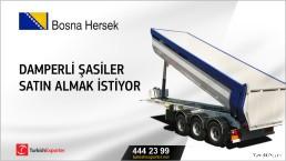 Bosna Hersek, Damperli şasiler satın almak istiyor