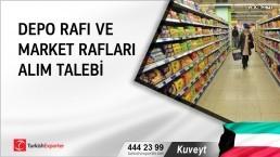 Kuveyt, Depo rafı ve market rafları alım talebi