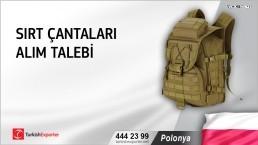 Polonya, Sırt çantaları alım talebi
