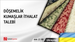 Ukrayna, Döşemelik kumaşlar ithalat talebi